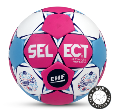 Replica of the Official Match Ball for the Women's EHF European Handball Championship 2018 in France.
