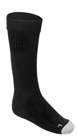 Football Socks Wool - Black
