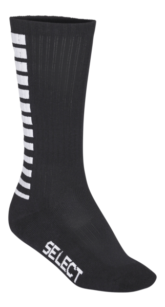 Sports Socks Striped Long - Black