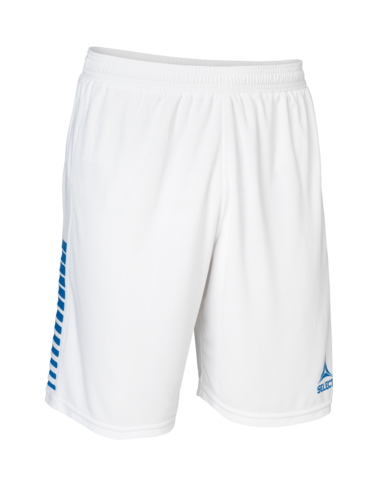 Player Shorts Brazil - White/Blue