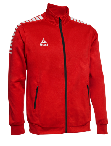 ZIP JACKET MONACO - ROUGE