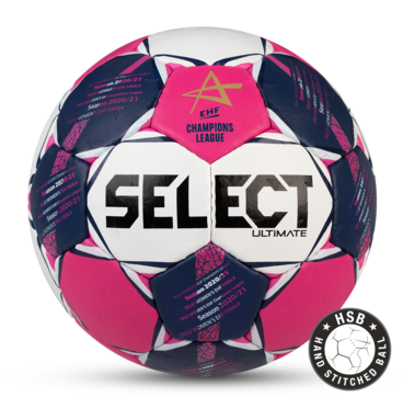 Ultimate. Le ballon officiel de la Ligue des Champions EHF Femme 2019